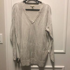 Beige Eileen Fisher sweater